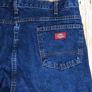 Dickies Blue Jeans Work Jeans Size 40 x 32